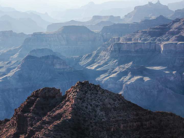 POTD: Distant Canyons